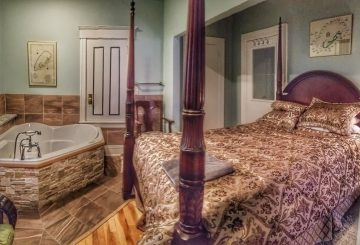 Dr. J. Smith Suite: 2 Guests · 1 Bedroom · 1 Queen Bed · 1 Bath