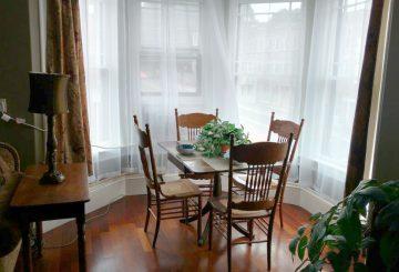 Turret Suite: 2-4 Guests · 1 Bedroom · 1 Queen Bed · 1 Bath